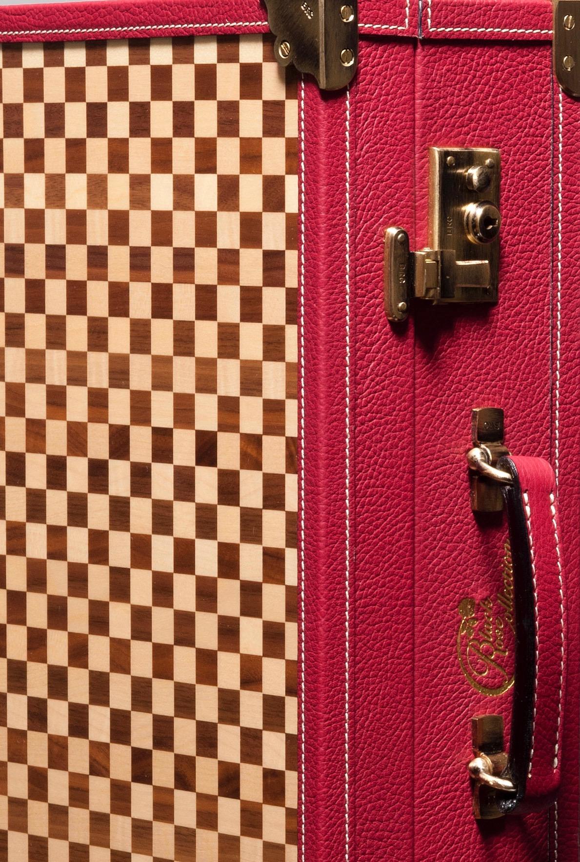 luxury leather bag Mendelssohn close up
