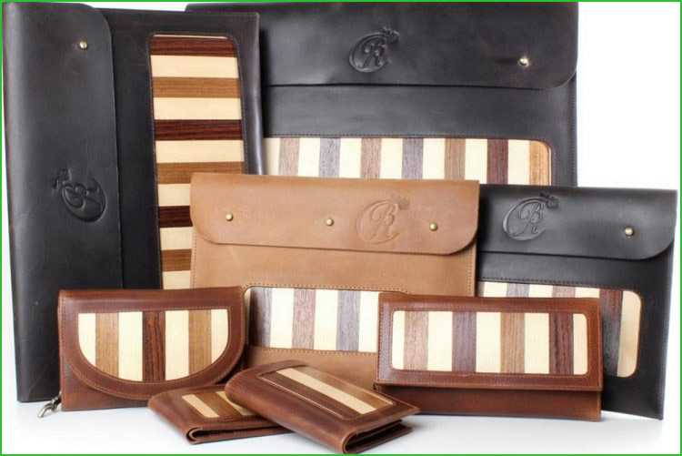 Blackrose Collection Bespoke Purses and iPad Cases