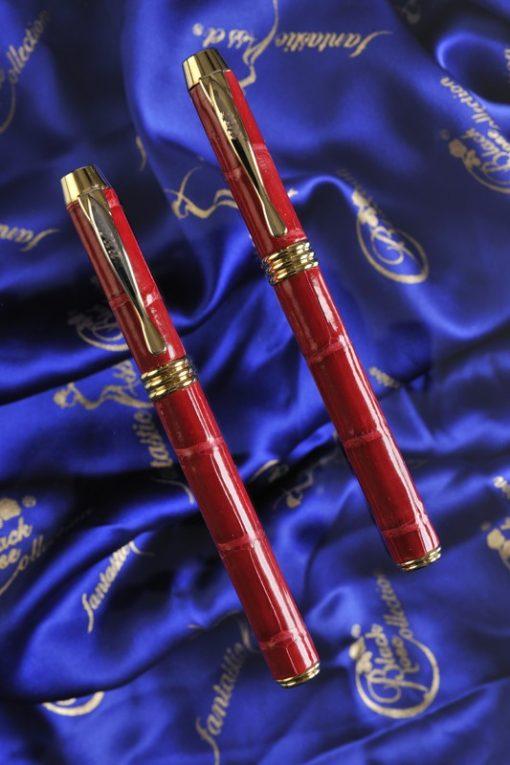 Luxury Pens Crocodile Red 2