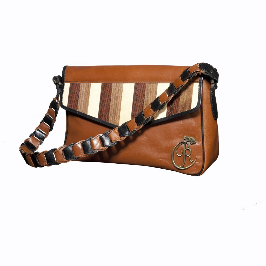 luxury leather bag Beethoven front