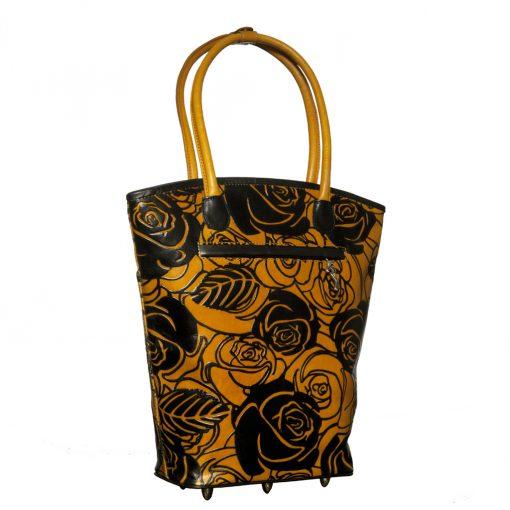 luxury leather bag Autumn Back