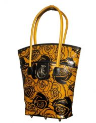 luxury leather bag Vivaldi Yellow Autumn