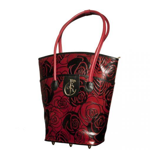 luxury leather bag Vivaldi Front