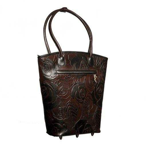 luxury leather bag Vivaldi Winter Back