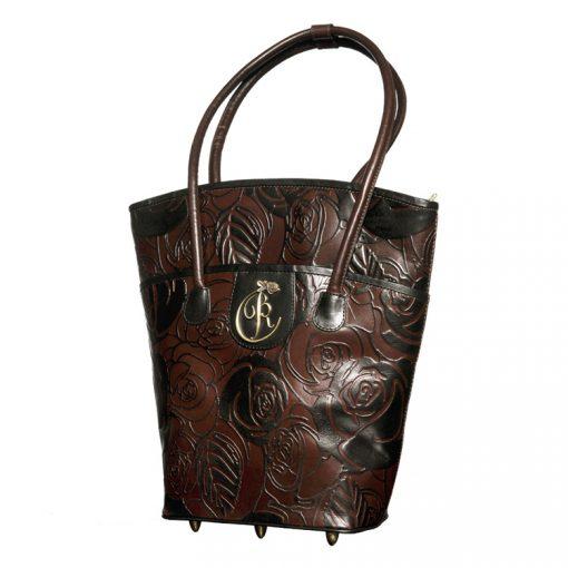 luxury leather bag Vivaldi