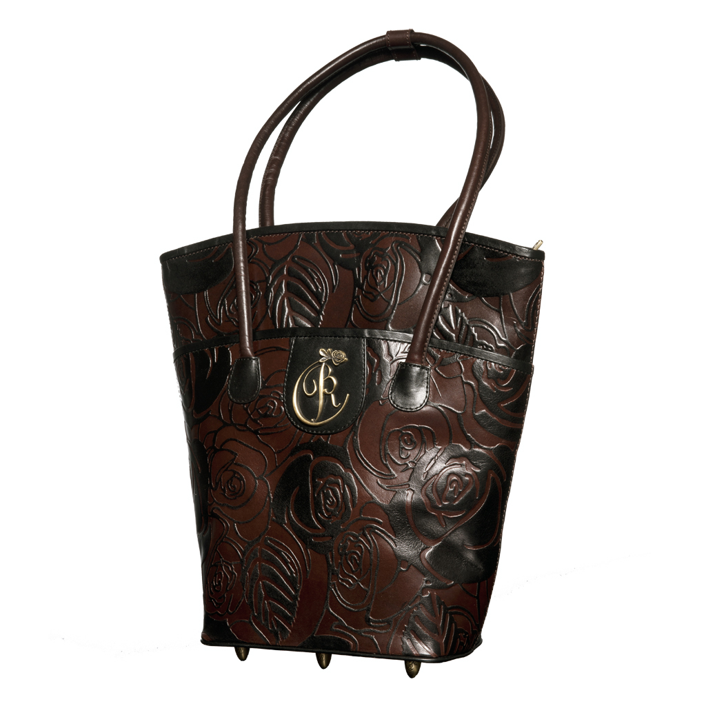 luxury leather bag Winter Front