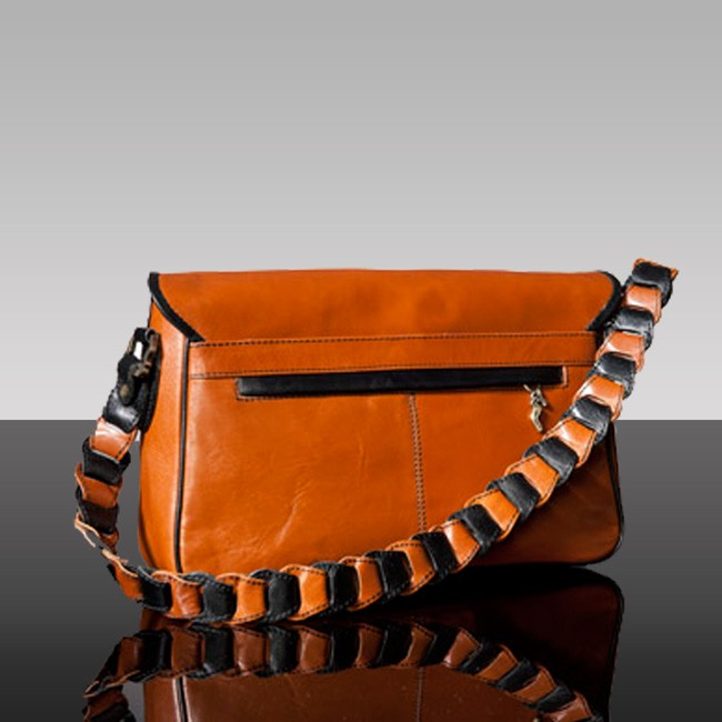 luxury leather bag Beethoven rear