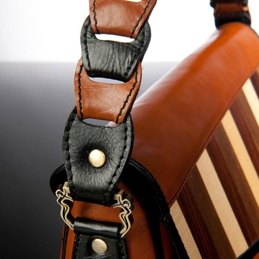 luxury leather bag Beethoven side