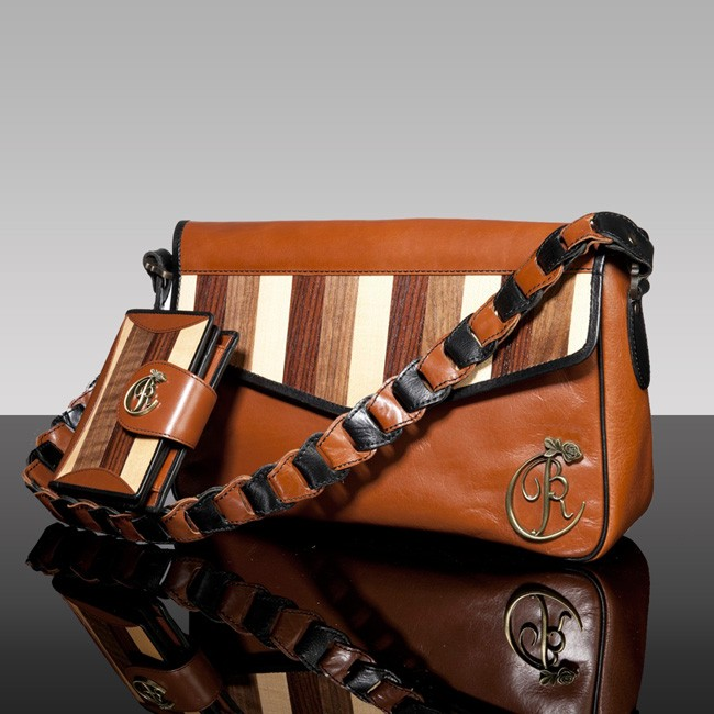 luxury leather bag Beethoven and purse