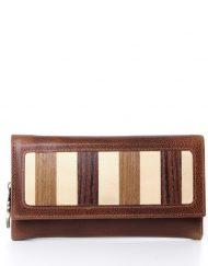 ladies long leather wallet long