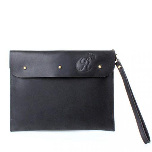 luxury ipad sleeve black