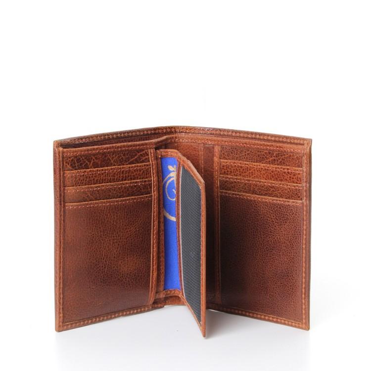 luxury leather wallet Louis V inside open