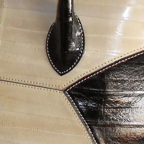 luxury leather bag Mahler Detials