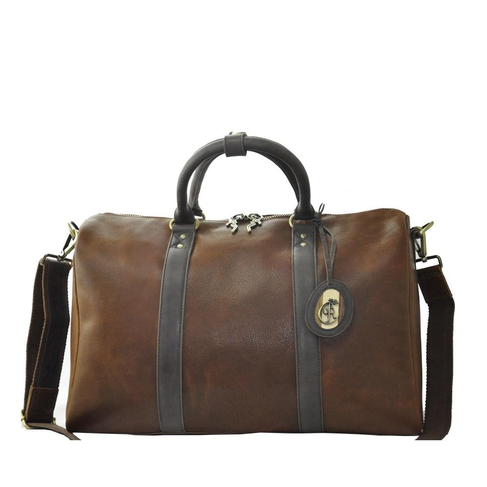 Luxury Leather Handbag Manon Front