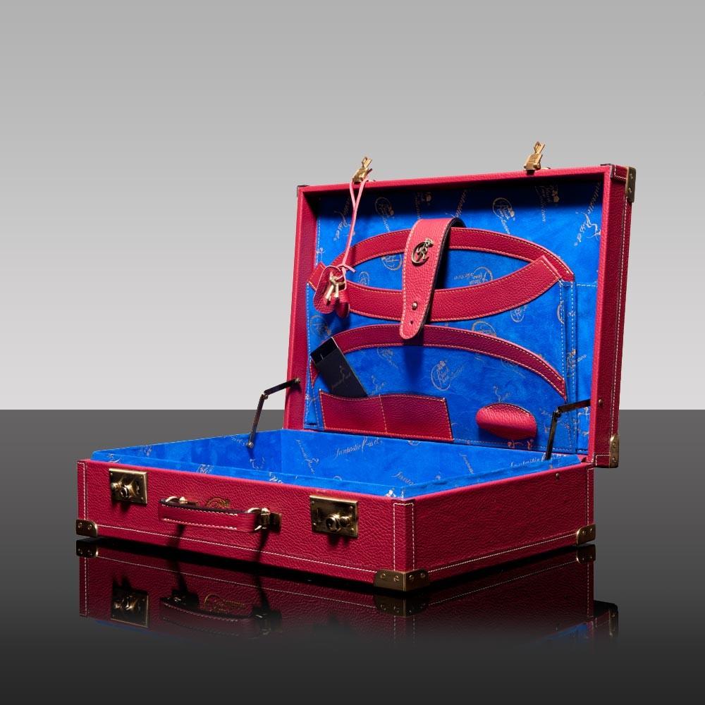 luxury leather bag mendelssohn open