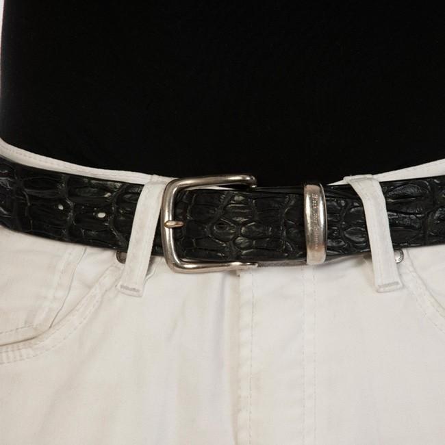 luxury leather belts oynx main