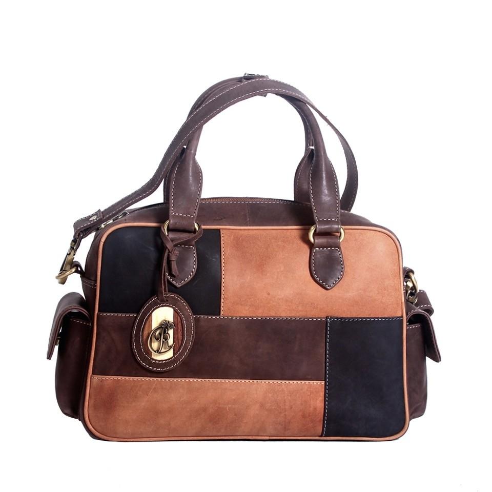 luxury leather bag polenc front