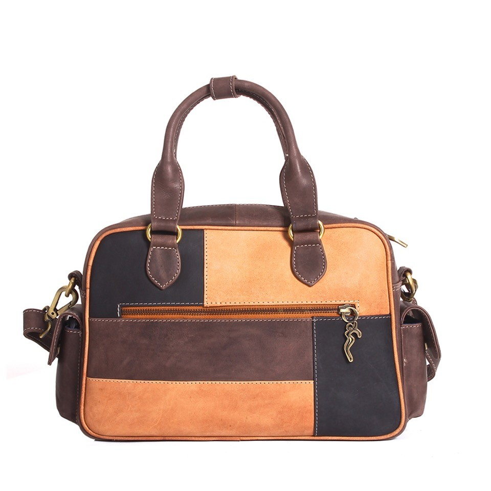 luxury leather bag polenc rear