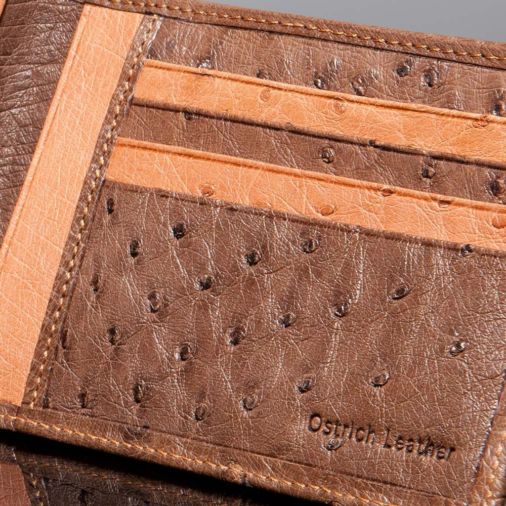 luxury leather wallet purcell inside 1
