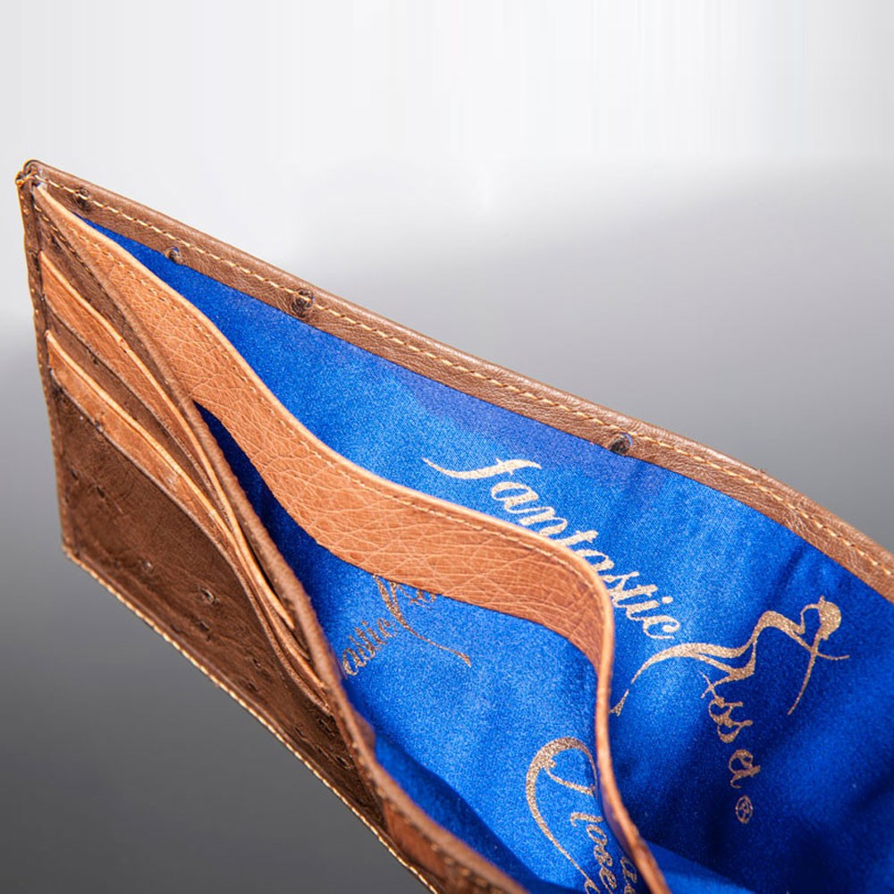 luxury leather wallet purcell inside
