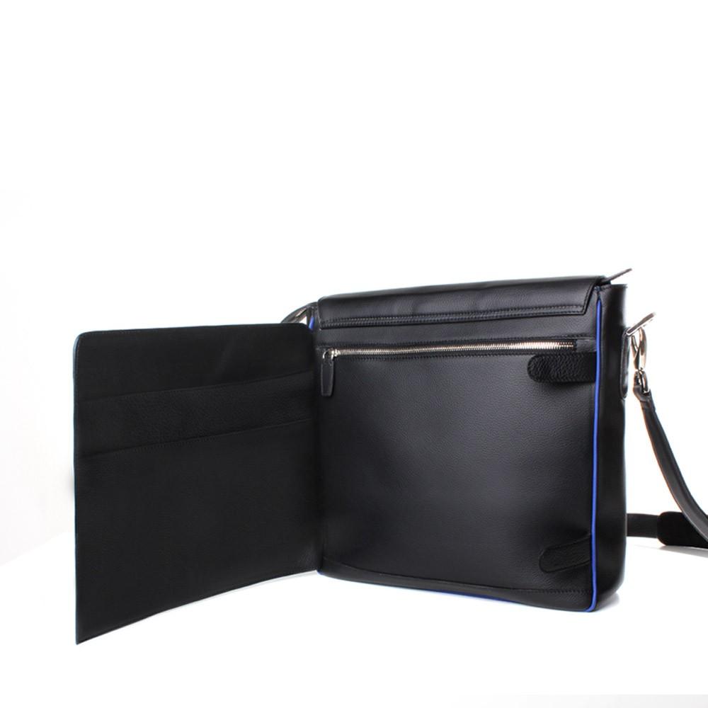 luxury leather bag rigoletto open