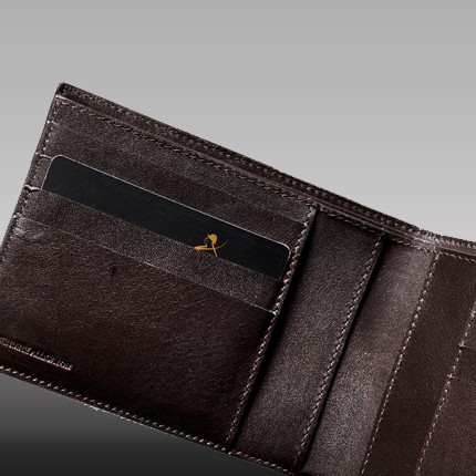 luxury leather wallet rodrigo internal