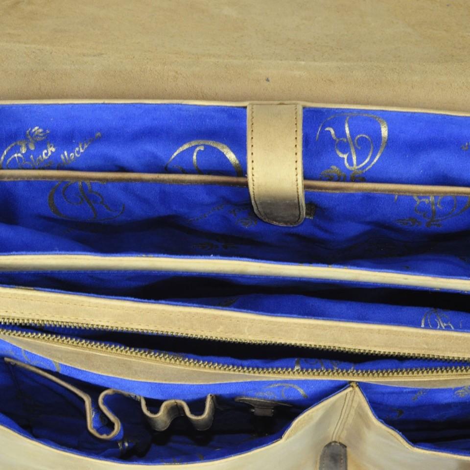 Luxury Leather Handbag romeo juliet inside