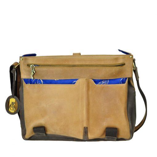 Luxury Leather Handbag romeo juliet open