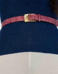 luxury leather belts ruby main