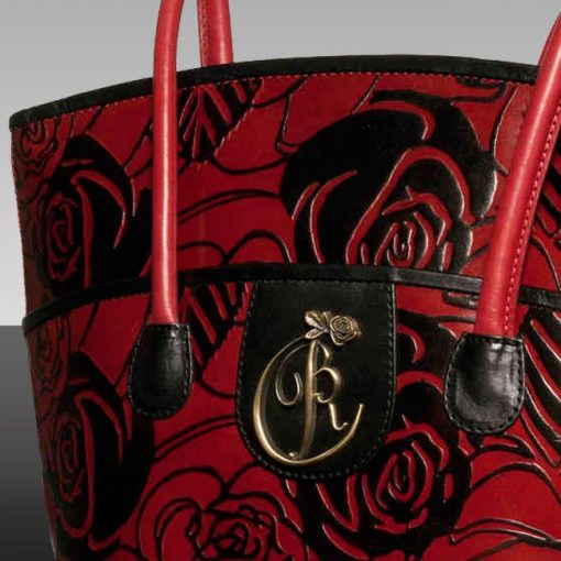 luxury leather bag Vivaldi Summer Close Up