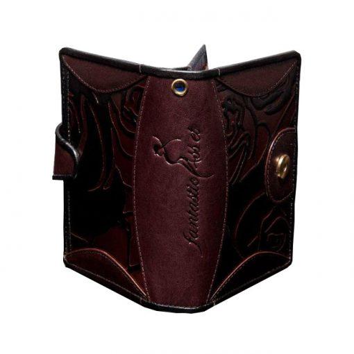 luxury leather purse Vivaldi Winter