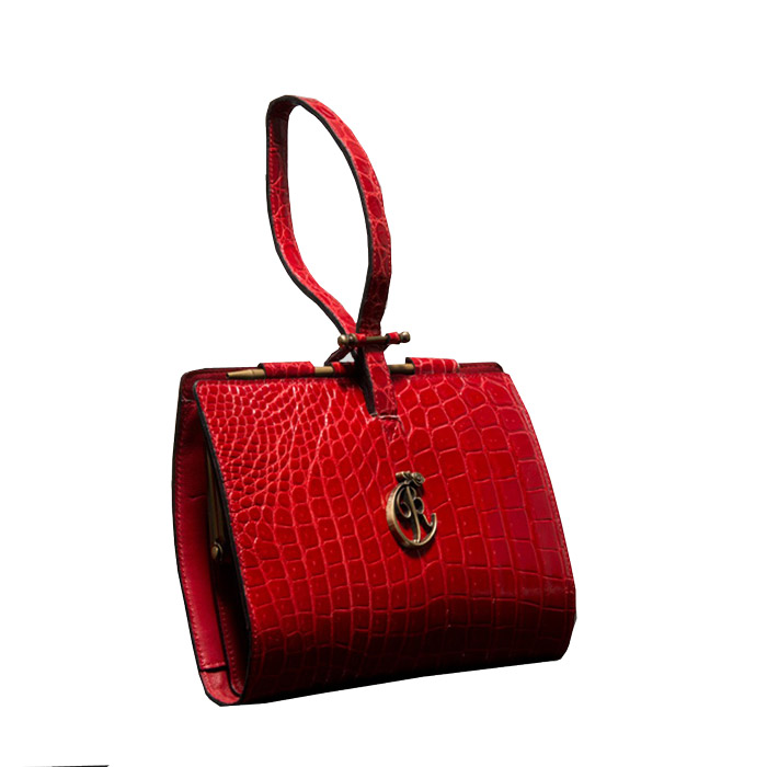 luxury genuine leather clutch bag
